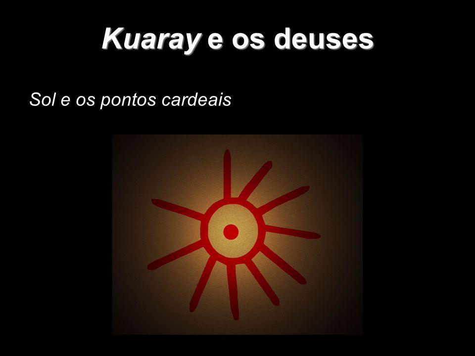 Kuaray e os deuses Sol e os pontos cardeais