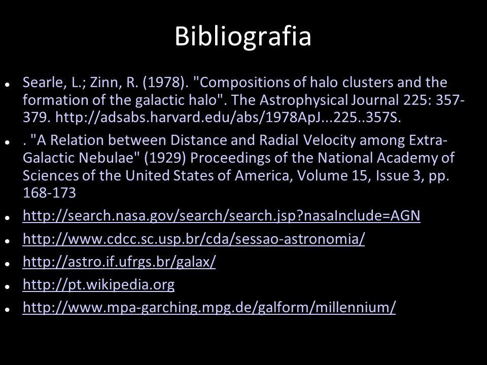 Bibliografia Searle, L.; Zinn, R. (1978).