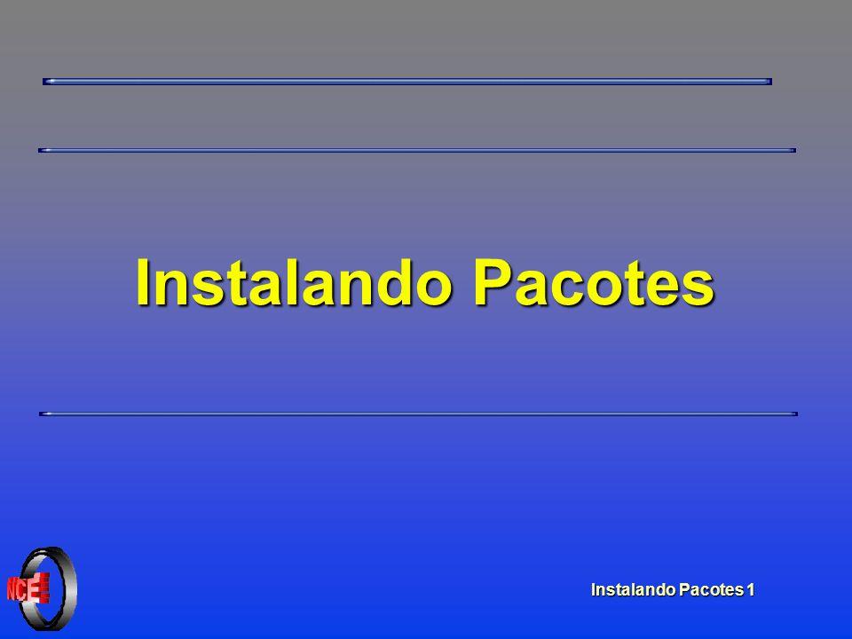 Instalando Pacotes 1 Instalando Pacotes
