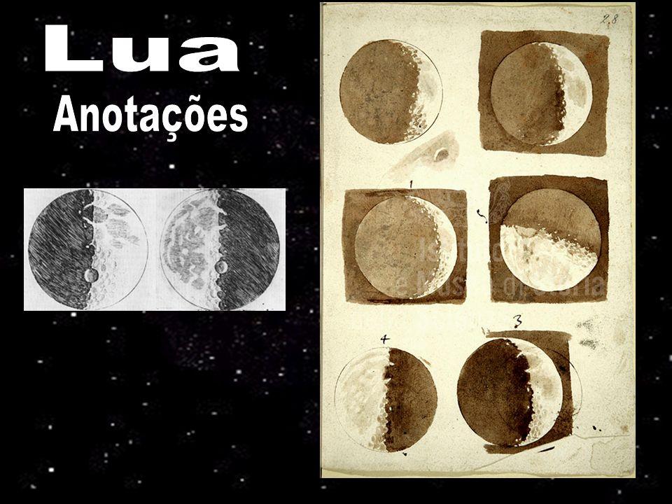 Kepler, 1600: duas lentes convengentes Huygens, 1655 : 5.7 cm diam, 3.4 m compr., 50x anéis de saturno, Titã Hevelius, 1647: 45 m compr., tremia demais manchas solares, crateras lunares
