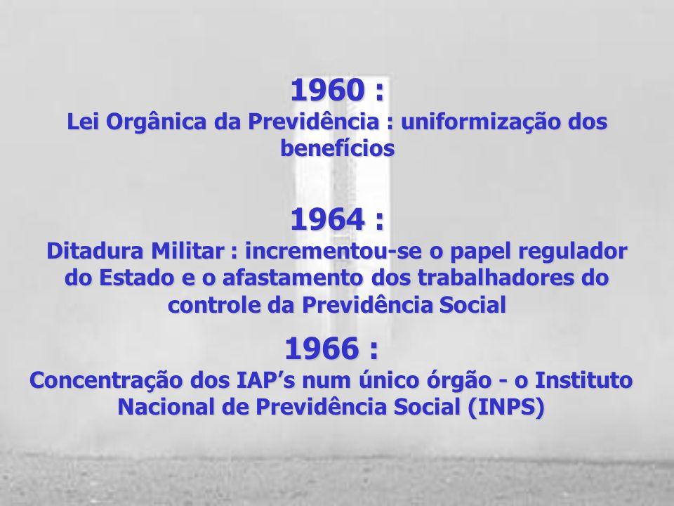 Décadas de 50 : (Segundo Governo de Getúlio Vargas Juscelino Kubitschek) IAPs : ampliação da estrutura hospitalar Cada vez mais foi adotado o modelo d