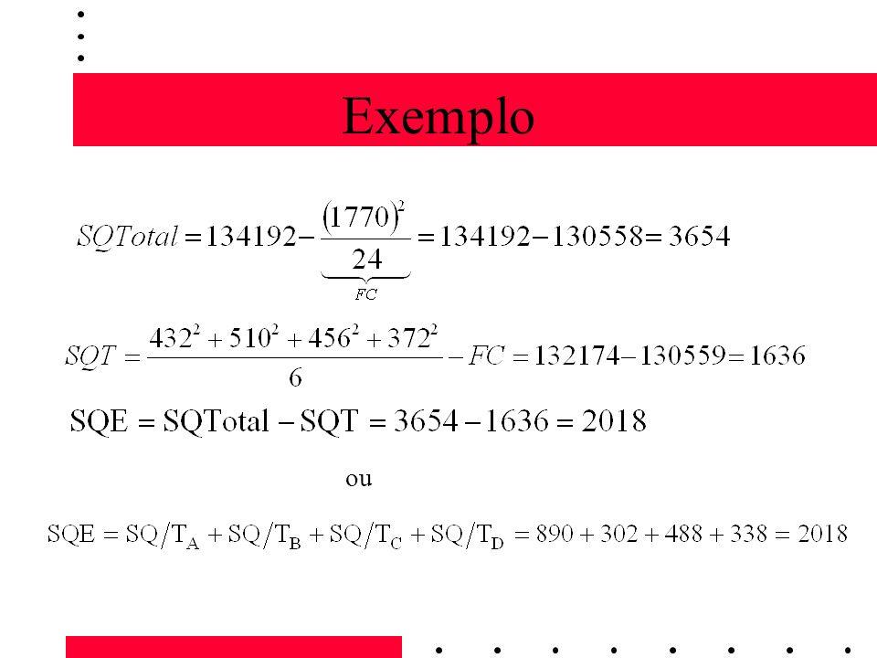 Exemplo ou