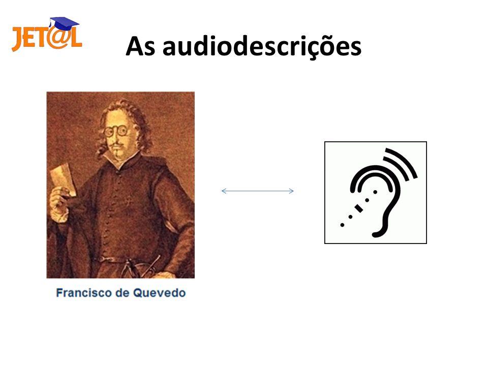 As audiodescrições
