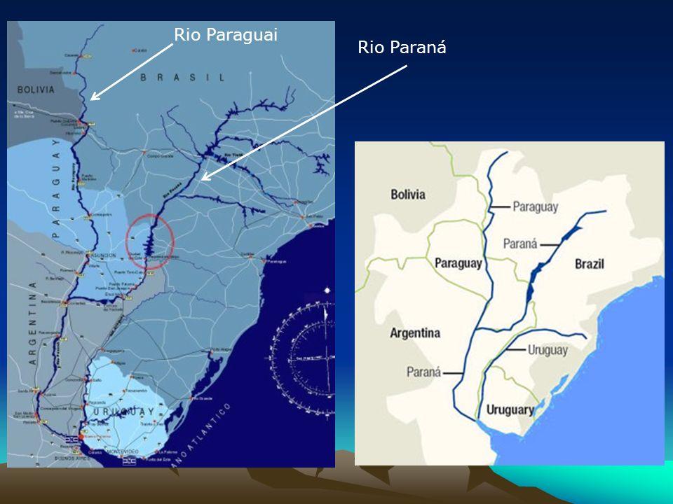Rio Paraguai Rio Paraná