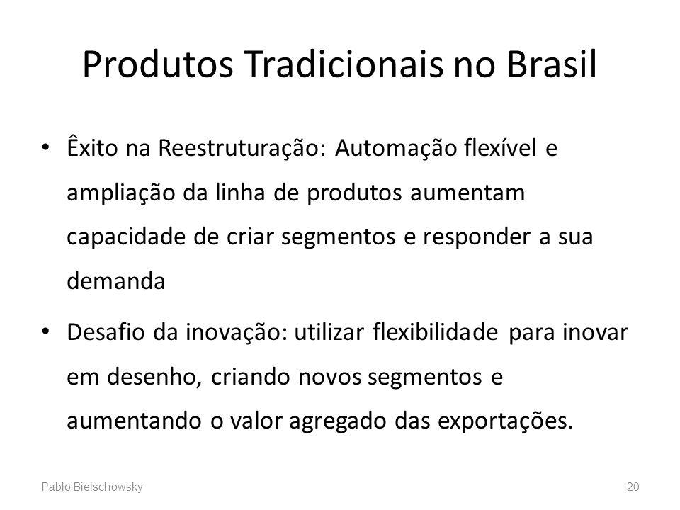 Produtos Tradicionais no Brasil Êxito na Reestruturação: Automação flexível e ampliação da linha de produtos aumentam capacidade de criar segmentos e