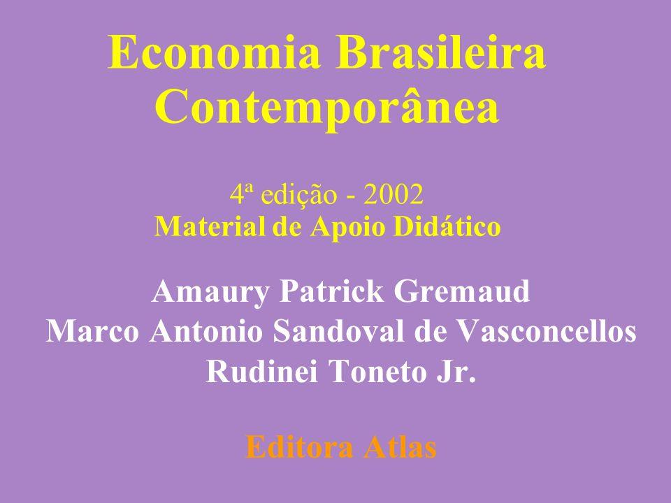 Parte III Capítulo 17Gremaud, Vasconcellos e Toneto Jr.2 Parte III: Abordagem Histórica da Economia Brasileira Capítulo 17: A saga dos planos heterodoxos: a economia brasileira de 1985 à 1994