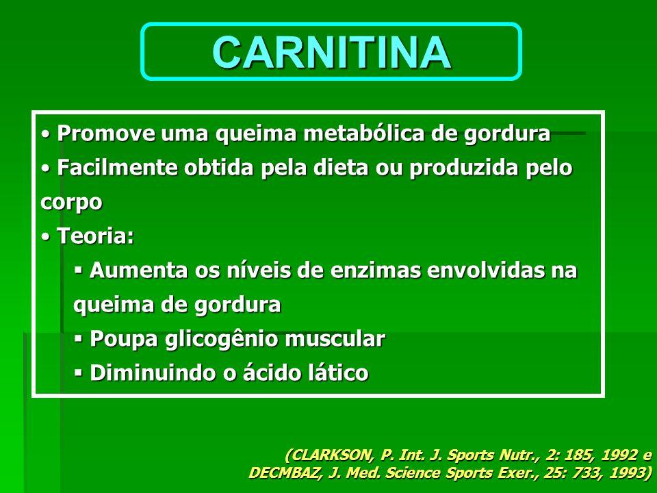 Promove uma queima metabólica de gordura Promove uma queima metabólica de gordura Facilmente obtida pela dieta ou produzida pelo corpo Facilmente obti