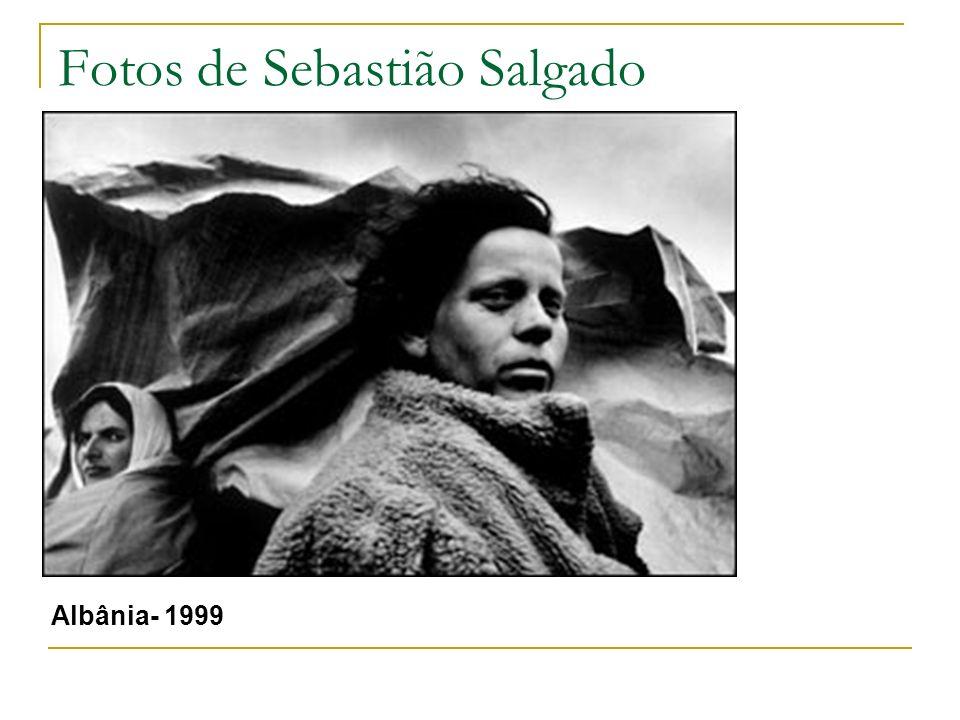 Fotos de Sebastião Salgado Albânia- 1999