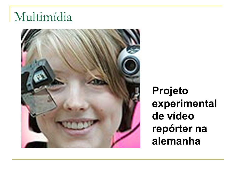 Multimídia Projeto experimental de vídeo repórter na alemanha