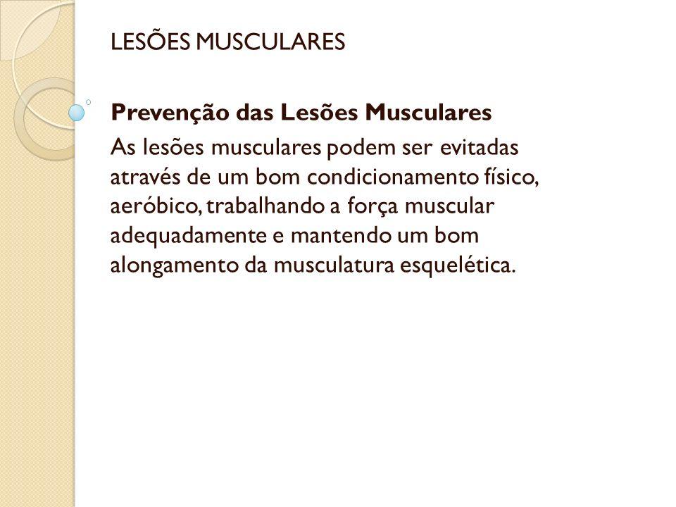 Mecanismos de Lesão Muscular As lesões musculares podem ocorrer por diversos mecanismos, seja por trauma direto, laceração ou isquemia.