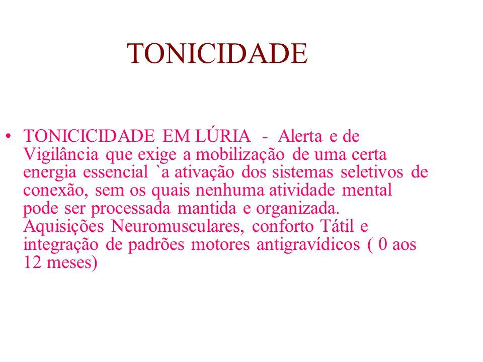 SISTEMA PSICOMOTOR HUMANO TONICIDADE EQUILIBRAÇÃO LATERALIDADE NOÇÃO DO CORPO (somatognosia) ESTRUTURAÇÃO ESPAÇO - TEMPORAL PRAXIA GLOBAL PRAXIA FINA