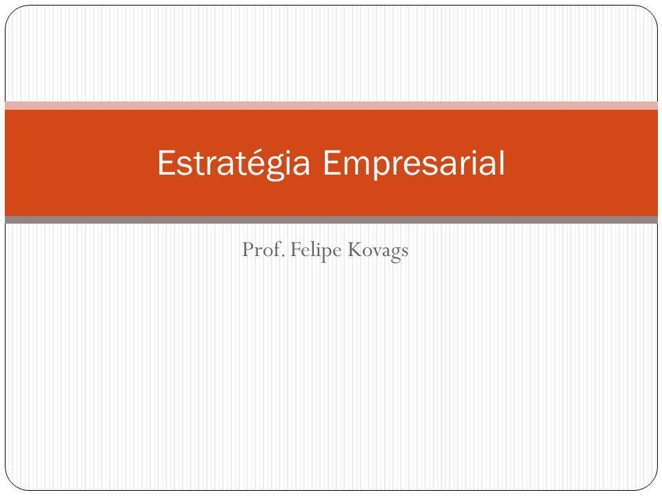 Prof. Felipe Kovags Estratégia Empresarial