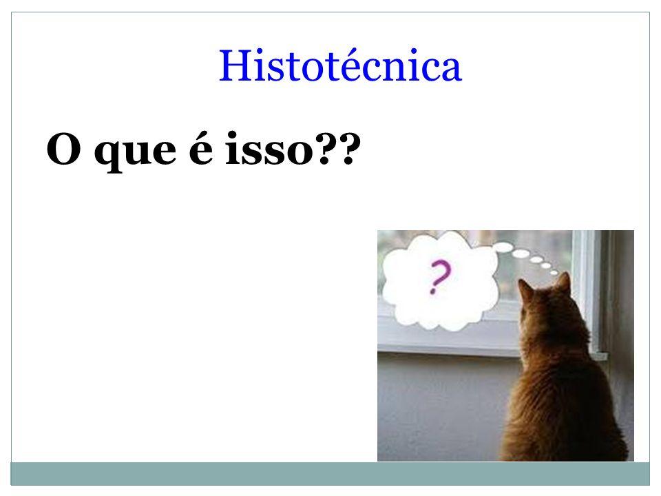 O que é isso?? Histotécnica