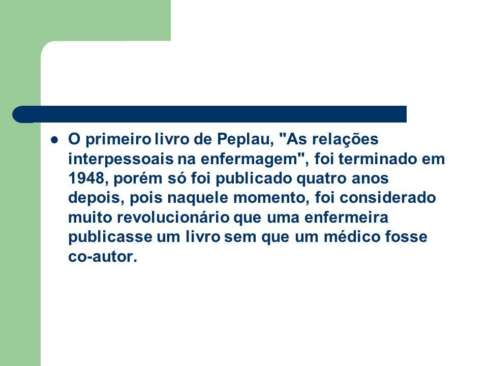 O primeiro livro de Peplau,