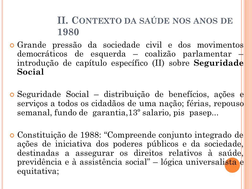 Grande pressão da sociedade civil e dos movimentos democráticos de esquerda – coalizão parlamentar – introdução de capítulo específico (II) sobre Segu