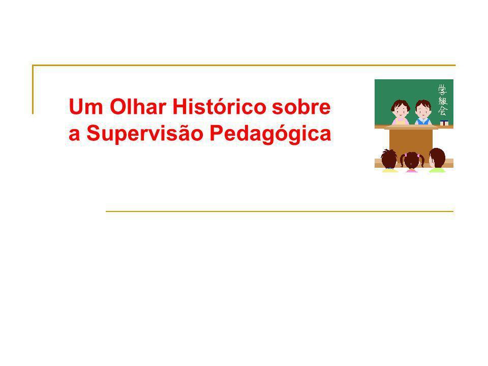 Referências Ferreira, N.S. C. Supervisão Educacional para uma escola de qualidade.