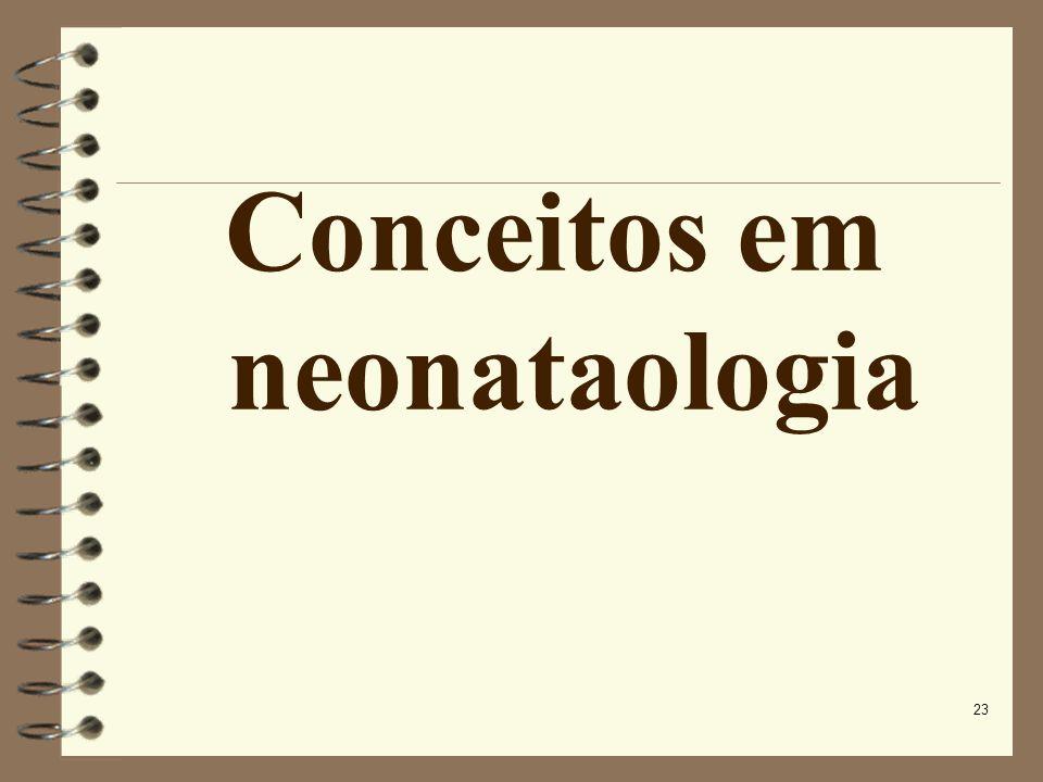23 Conceitos em neonataologia