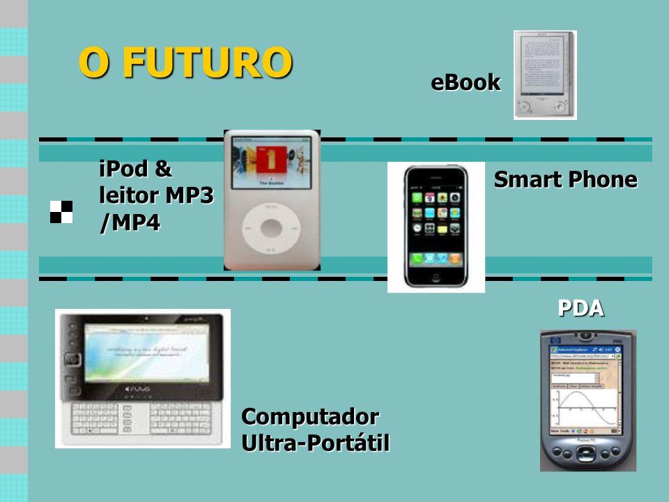 O FUTURO PDA eBook ComputadorUltra-Portátil iPod & leitor MP3 /MP4 Smart Phone