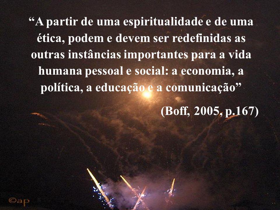 Desafios ético-ecológicos: atitudes novas em face de uma realidade nova? (Boff, 2005, p.58) Humanização mínima Cidadania Bem-estar humano e ecológico