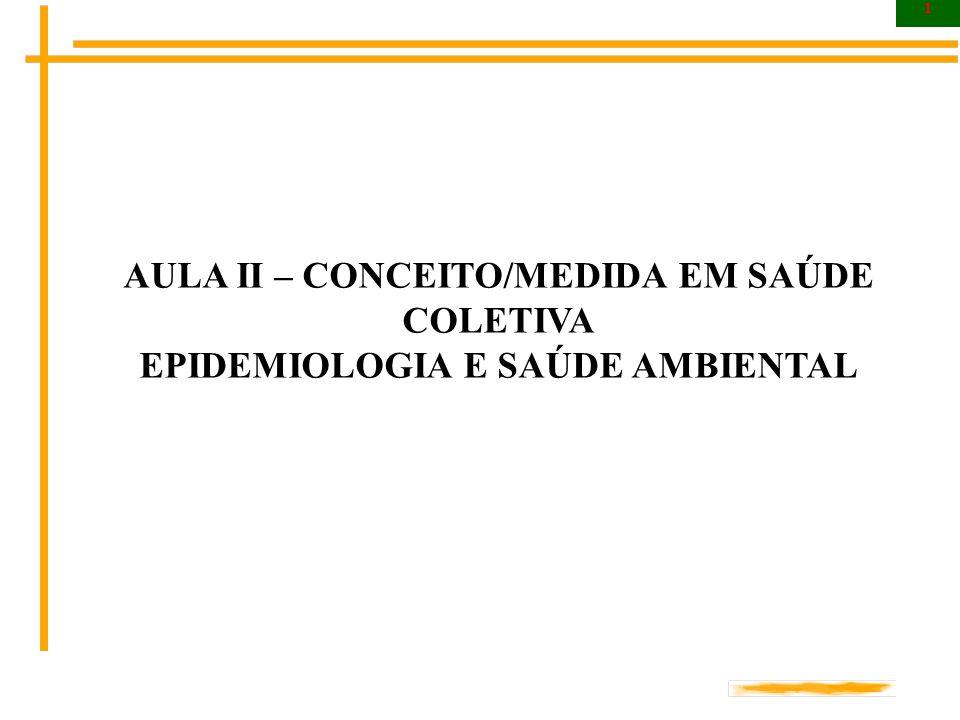 22 A Medida em Saúde Coletiva O índice de Mortalidade Infantil Proporcional indica a proporção de óbitos de crianças menores de 01 ano, na área e período.