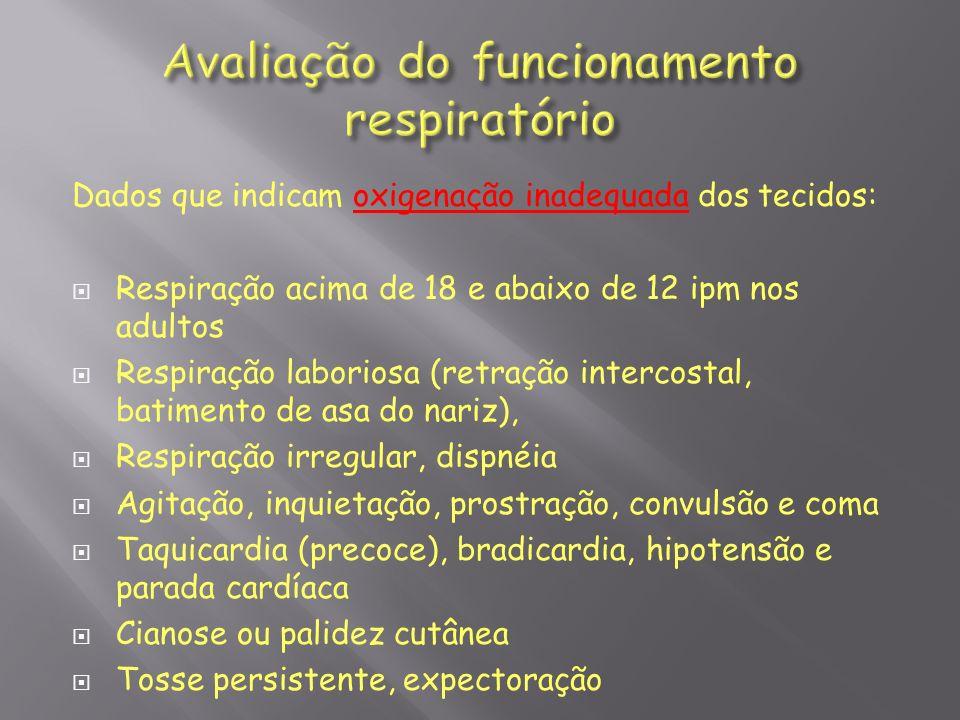 Manter VAS desobstruídas: tosse, aspiração,nebulização, traqueostomia.