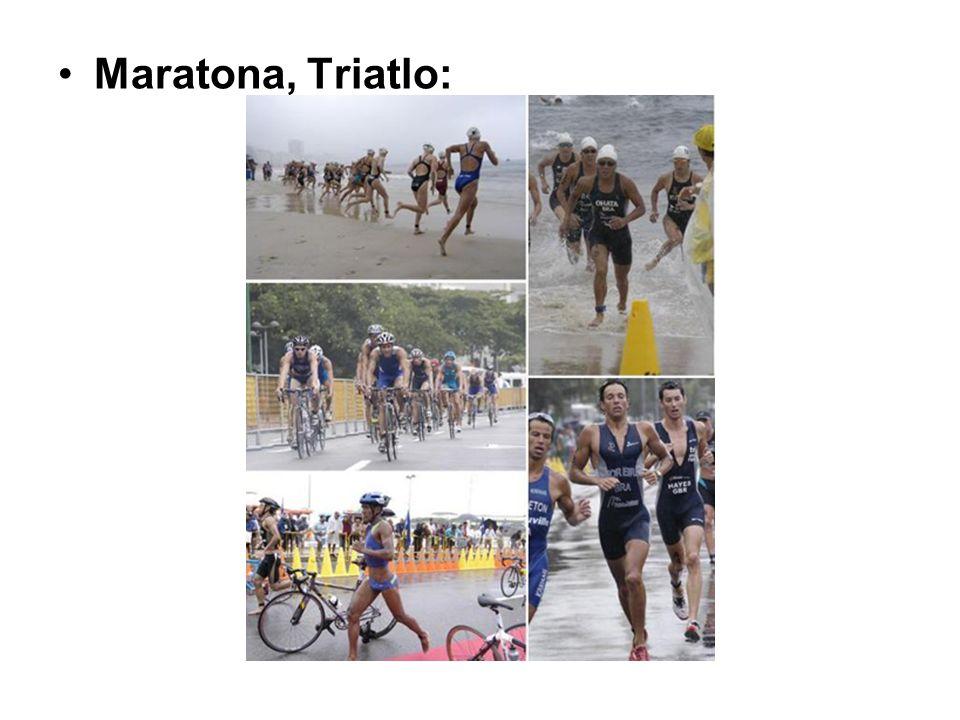 Maratona, Triatlo: