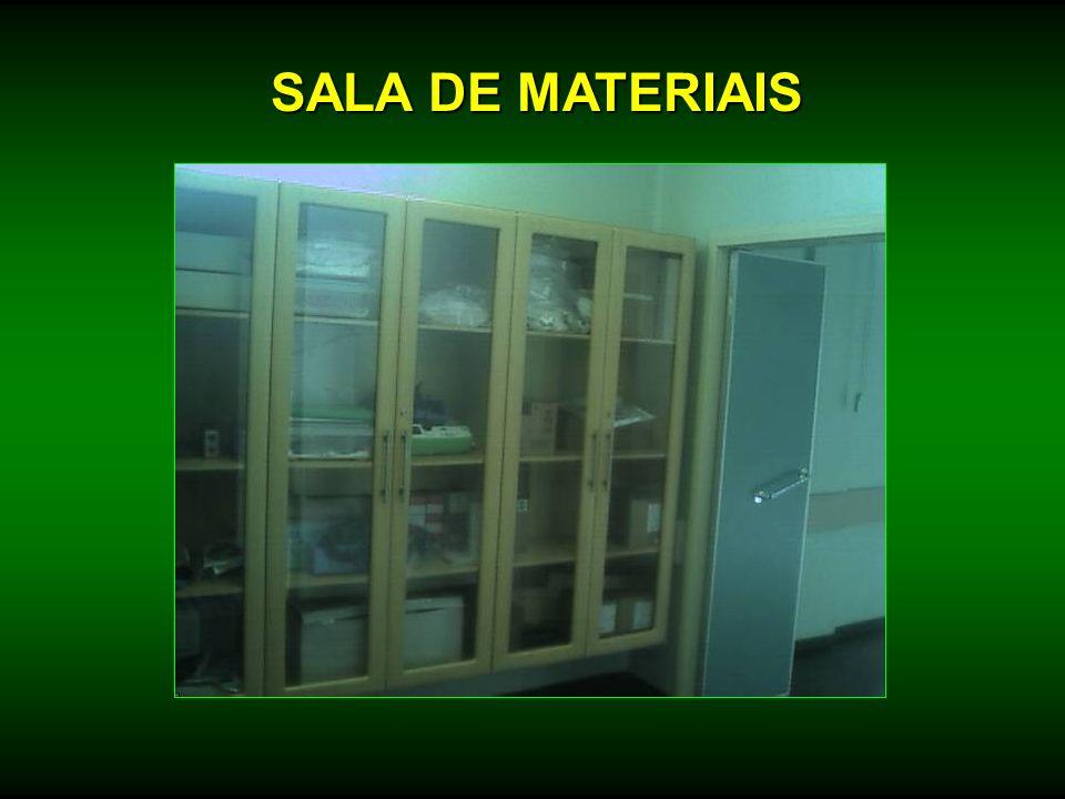SALA DE MATERIAIS