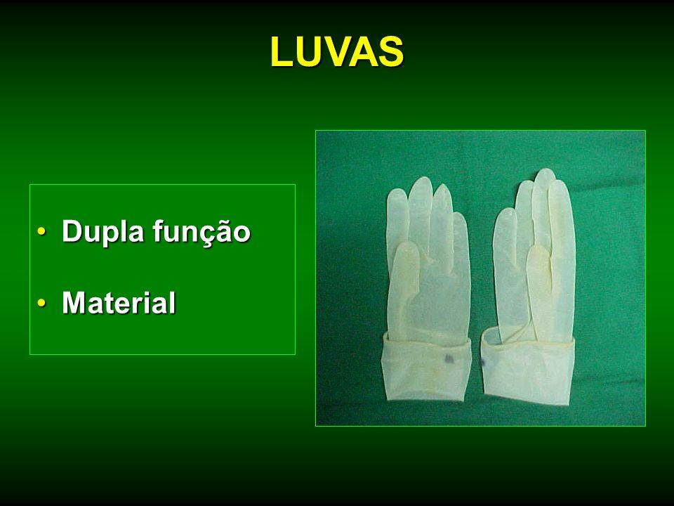 Dupla funçãoDupla função MaterialMaterial LUVAS
