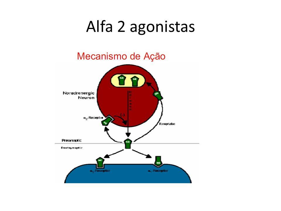 Alfa 2 agonistas