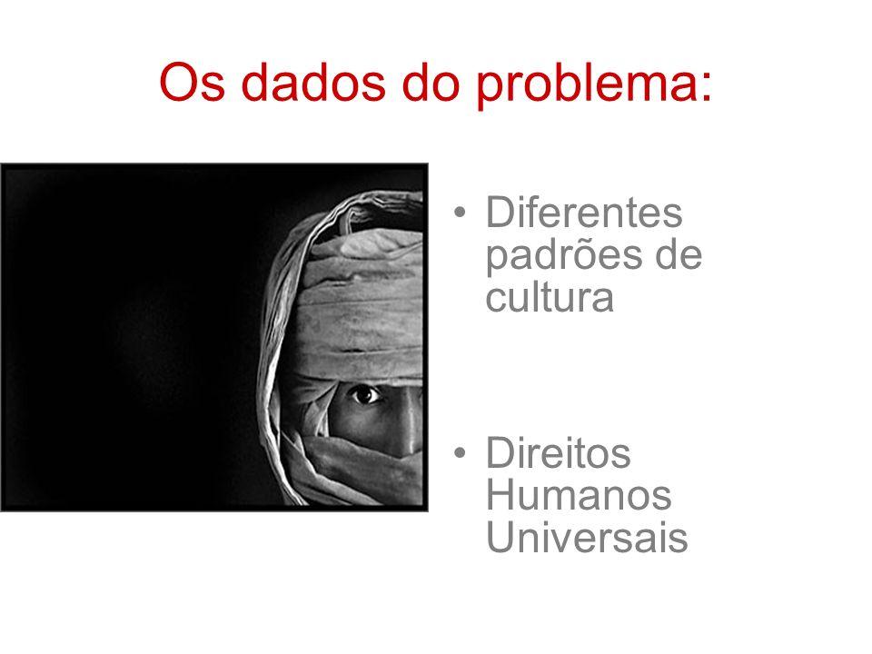 Padrões de Cultura Os padrões de cultura são modos de pensar e agir comuns aos membros de uma sociedade.
