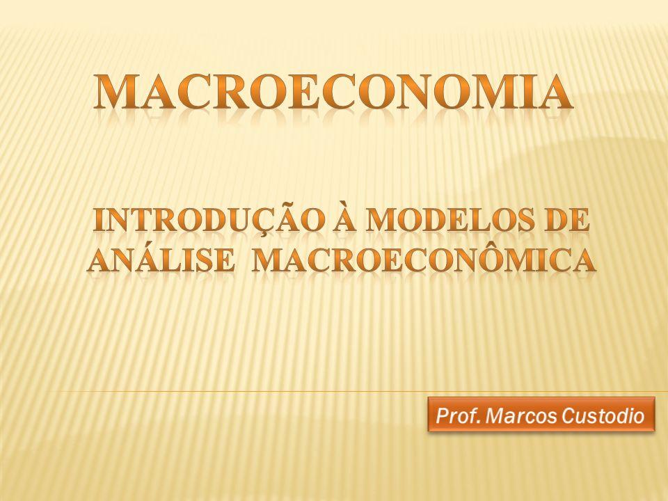 Fluxos econômicos numa economia de mercado.As contas nacionais.