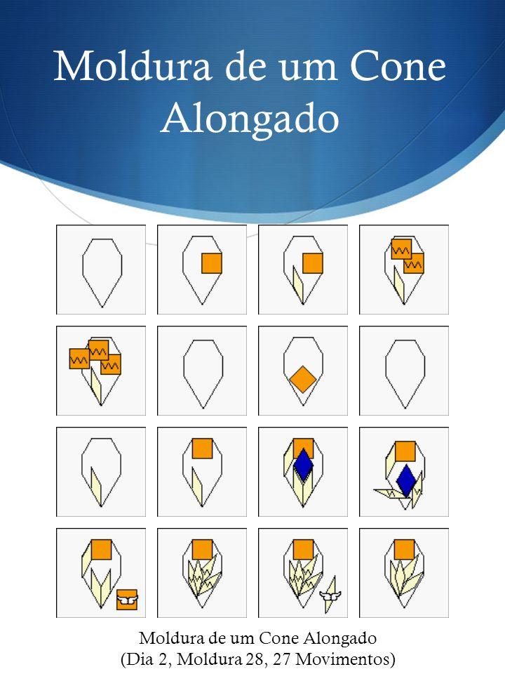 Moldura de um Cone Alongado (Dia 2, Moldura 28, 27 Movimentos)