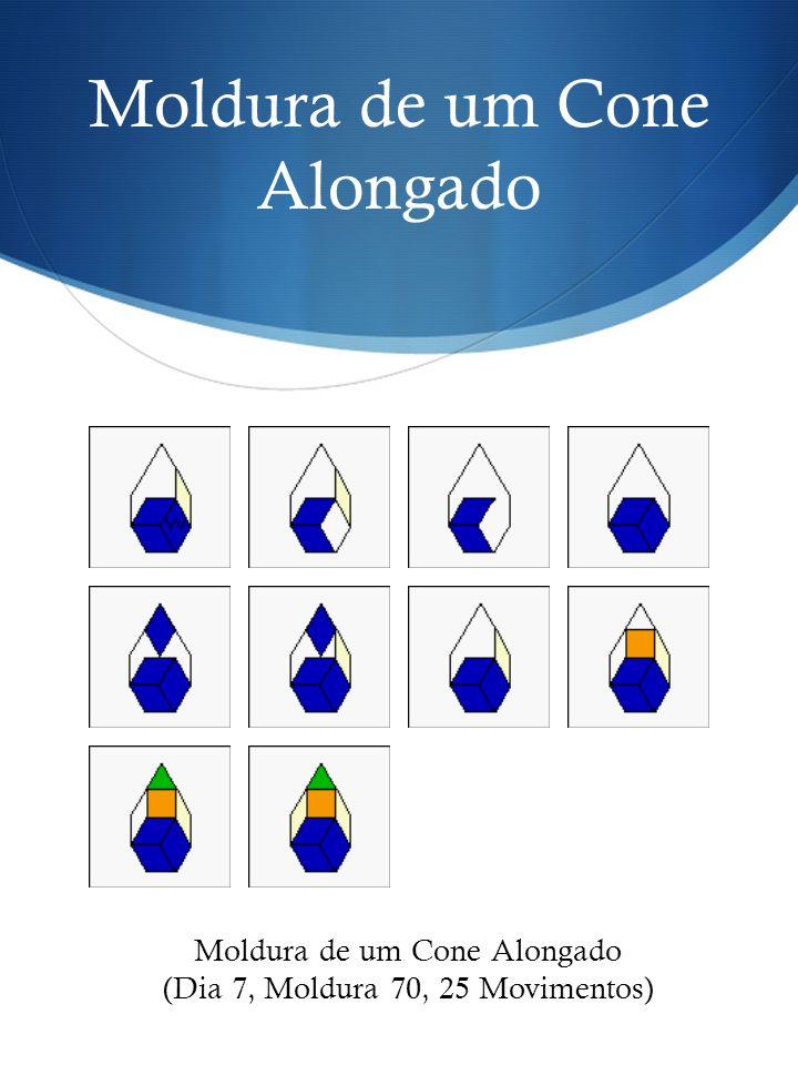 Moldura de um Cone Alongado (Dia 7, Moldura 70, 25 Movimentos)