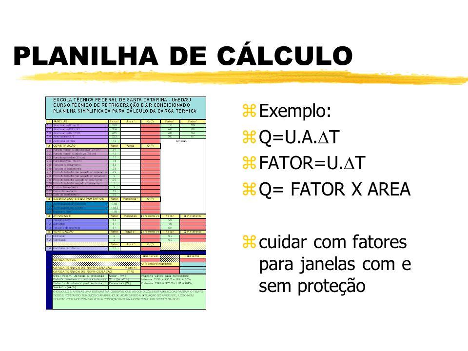 CÁLCULO DE CARGA TÉRMICA