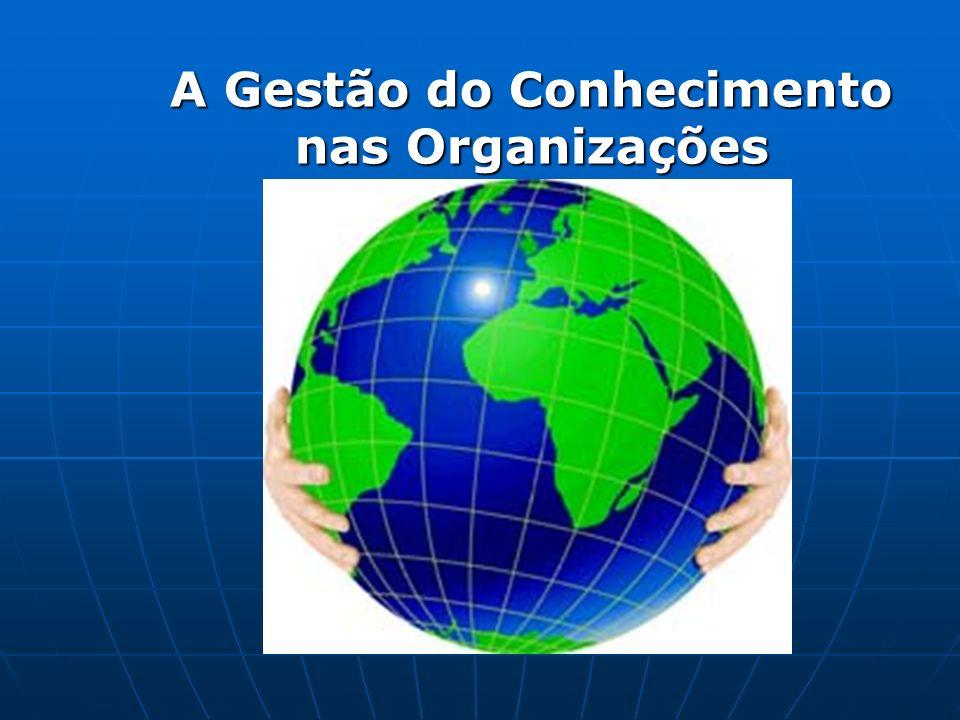 A Gestão do Conhecimento nas Organizações