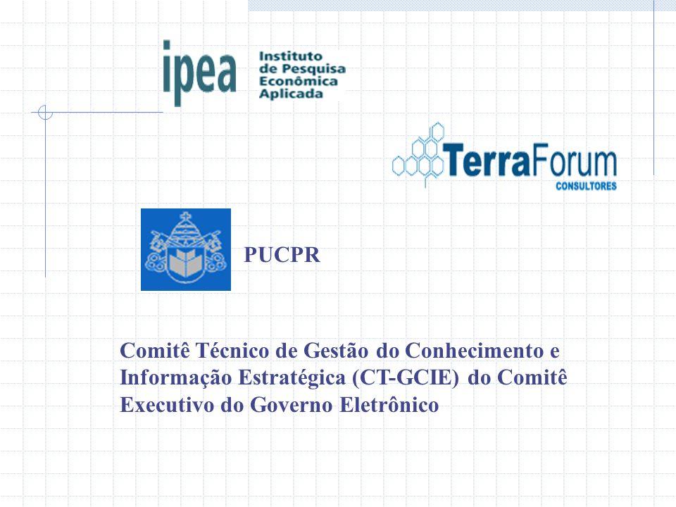Comitê Técnico de Gestão do Conhecimento e Informação Estratégica (CT-GCIE) do Comitê Executivo do Governo Eletrônico PUCPR