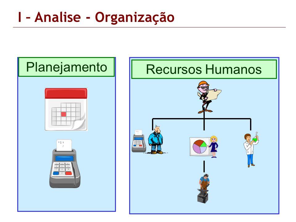Planejamento Recursos Humanos I – Analise - Organização