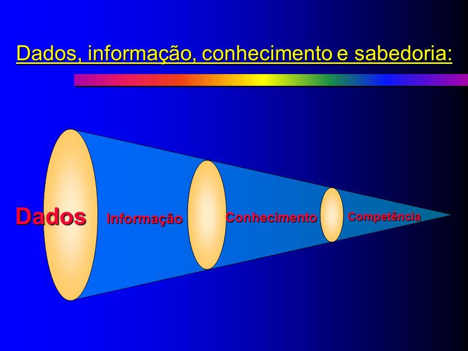 Inteligência Competitiva Insumo Básico Recurso Estratégico Vantagem Competitiva Administração de Dados Gestão da Informação Gestão da Informação e do