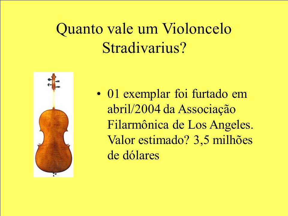 Quanto vale um Violoncelo Stradivarius.