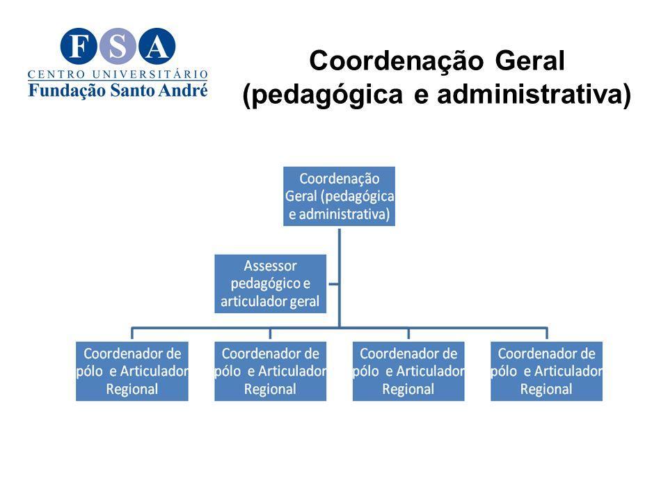 Coordenação Geral (pedagógica e administrativa)