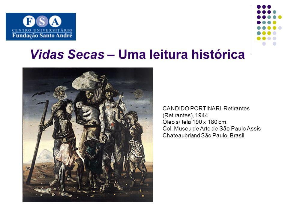 Vidas Secas – Uma leitura histórica CANDIDO PORTINARI, Retirantes (Retirantes), 1944 Óleo s/ tela 190 x 180 cm. Col. Museu de Arte de São Paulo Assis