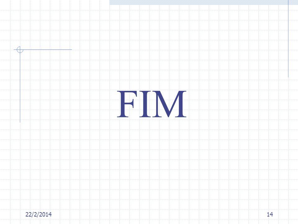22/2/201414 FIM