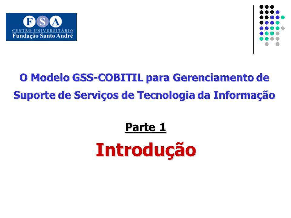 O Modelo GSS-COBITIL para Gerenciamento de Suporte de Serviços de Tecnologia da Informação Parte 1 Introdução