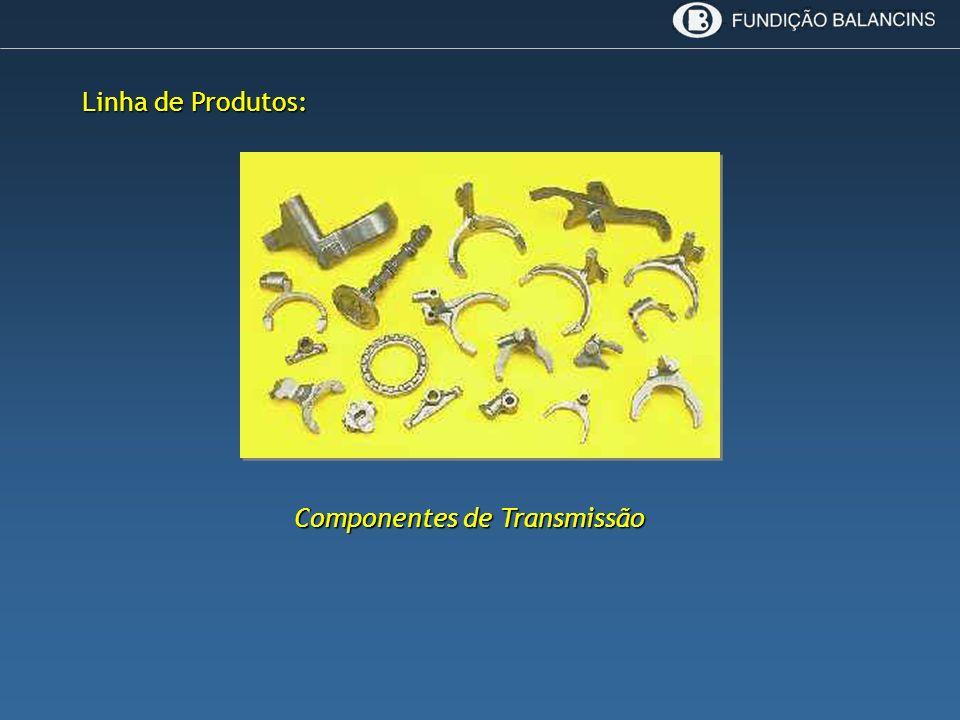 Componentes de Transmissão Linha de Produtos: