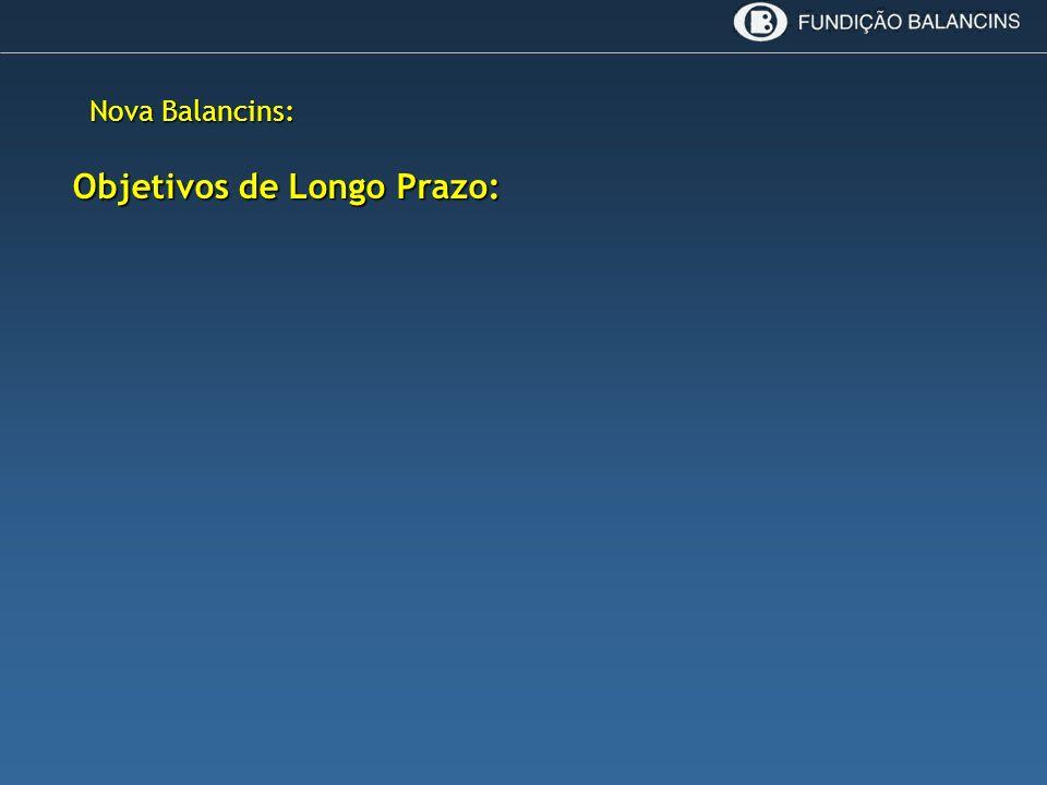 Nova Balancins: Objetivos de Longo Prazo: