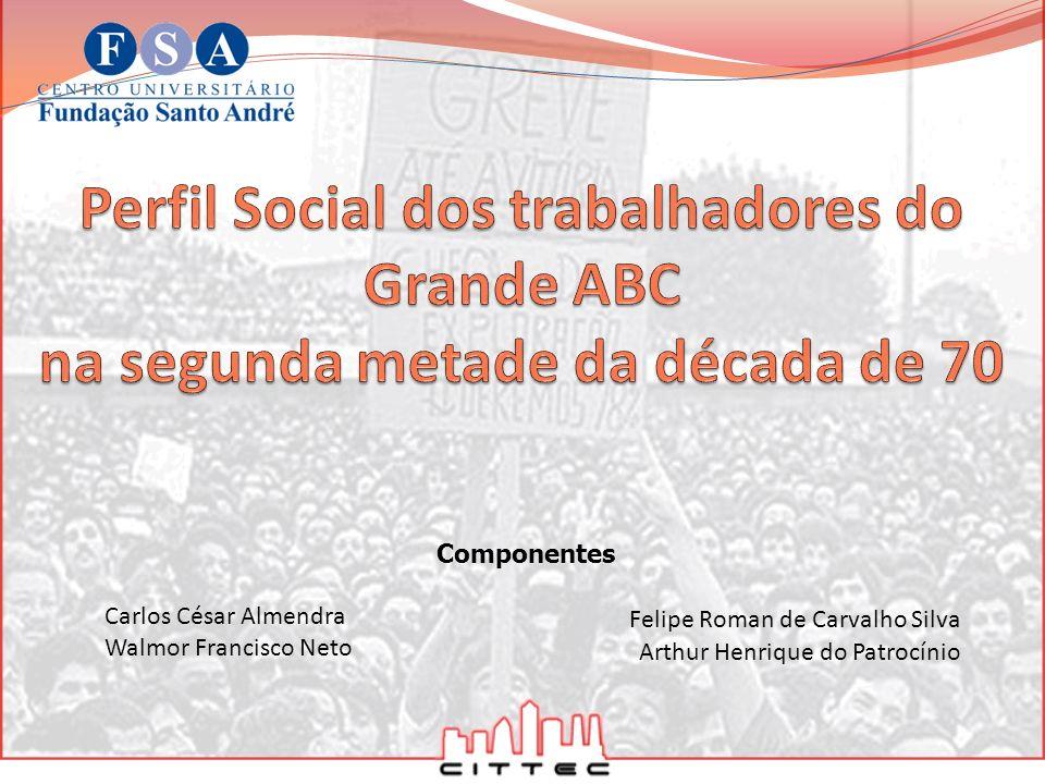 Componentes Carlos César Almendra Walmor Francisco Neto Felipe Roman de Carvalho Silva Arthur Henrique do Patrocínio