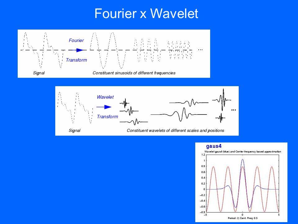 Fourier x Wavelet