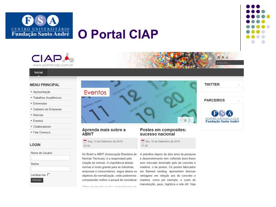 O Portal CIAP
