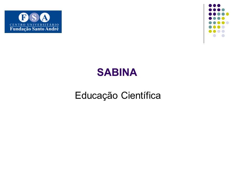SABINA Educação Científica