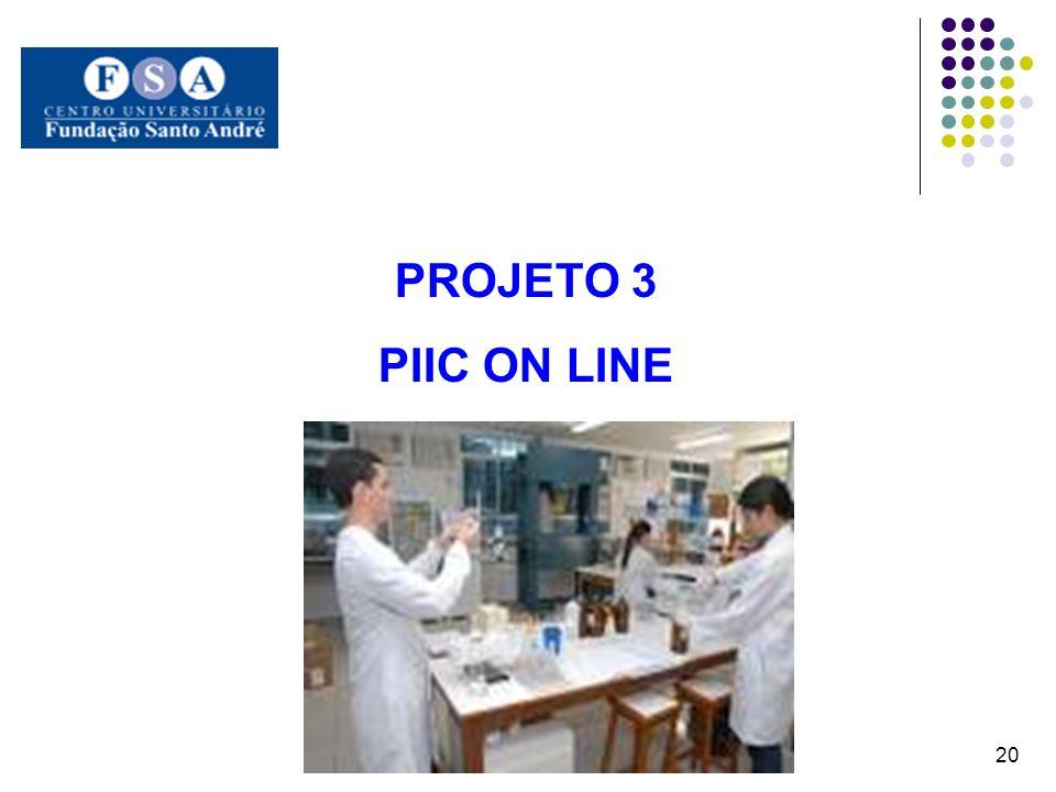 PROJETO 3 PIIC ON LINE 20
